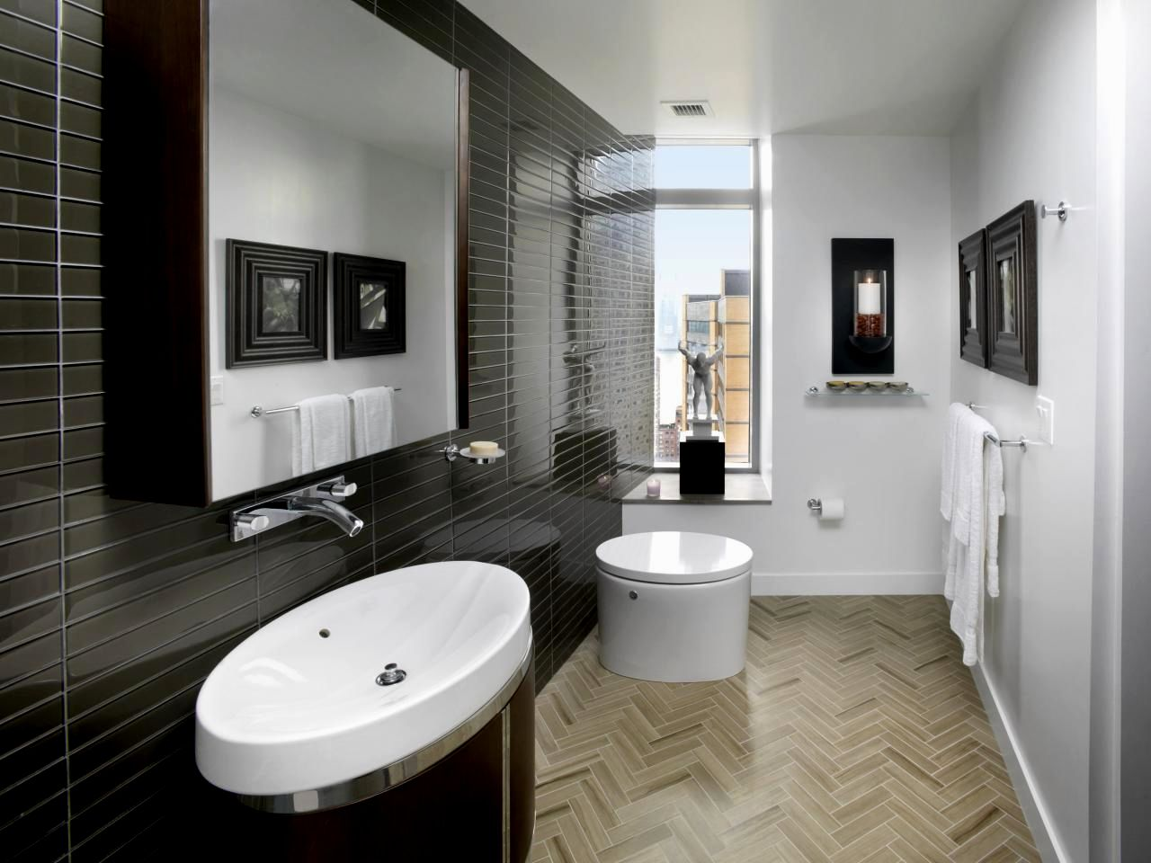 Unique Bathroom Floor Tile Ideas for Small Bathrooms Picture ...