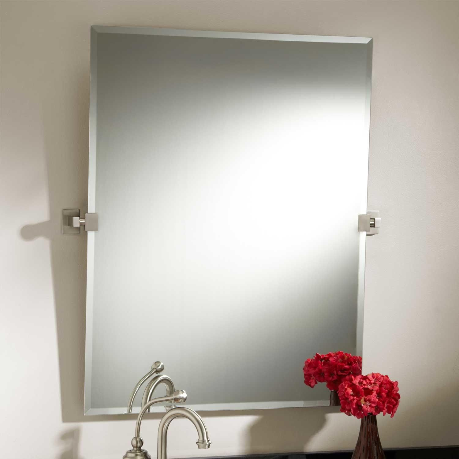 luxury bathroom pivot mirror ideas-Contemporary Bathroom Pivot Mirror Layout