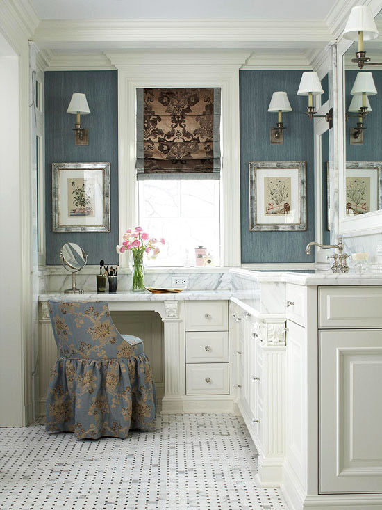 luxury bathroom vanity with makeup station architecture-Excellent Bathroom Vanity with Makeup Station Layout