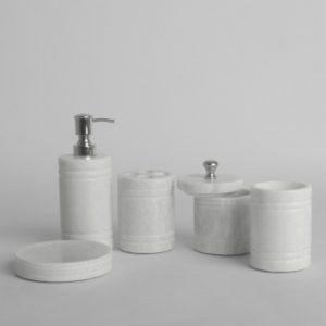 Marble Bathroom Set Stylish Ayden Marble Bath Set Bathroom Accessories Bath Décor