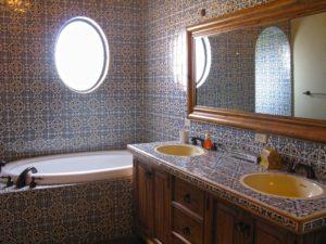 Mexican Tile Bathroom Terrific Luxury Mexican Tile Bathroom Designs Aeaart Design Photo