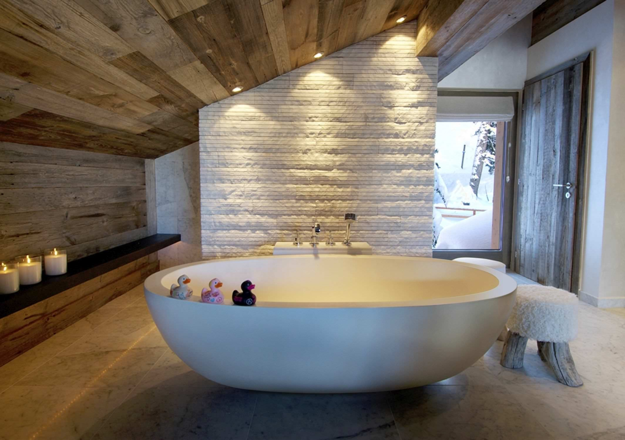 Modern Rustic Bathroom Beautiful Awesome Modern Rustic Bathrooms Design Ideas with White Brick Decoration