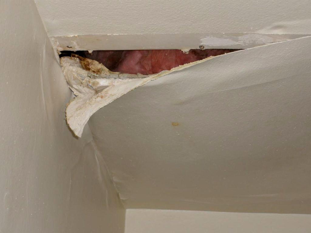 Best Water Leaking From Ceiling Under Bathroom Gallery ...