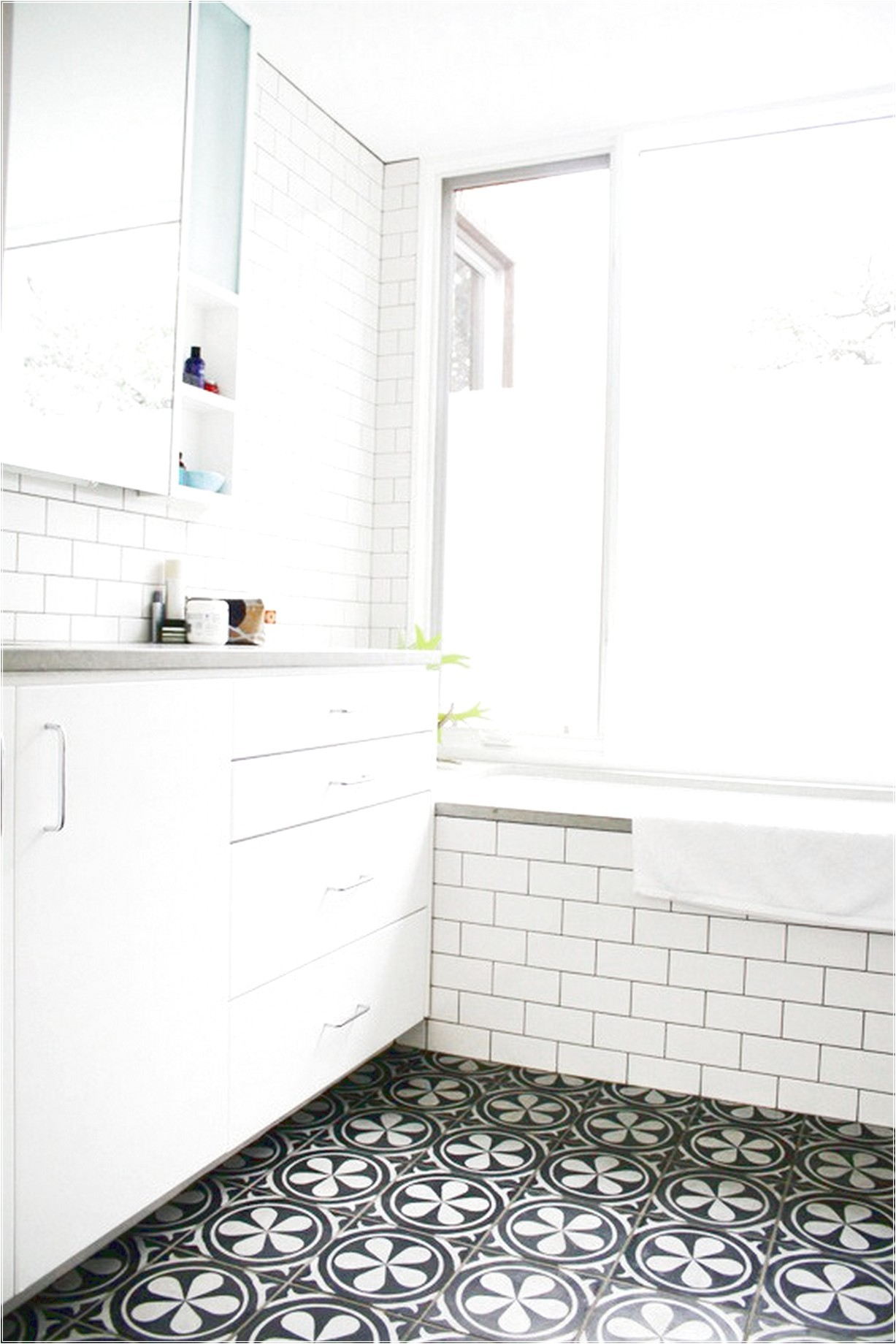 Unique Mosaic Bathroom Floor Tile Picture - Bathroom Design Ideas ...