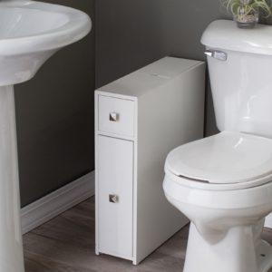 Narrow Bathroom Cabinet Stunning Belham Living Longbourn Narrow Bath Cabinet Inspiration