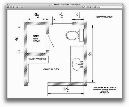 new 8x8 bathroom layout photograph-Unique 8×8 Bathroom Layout Model