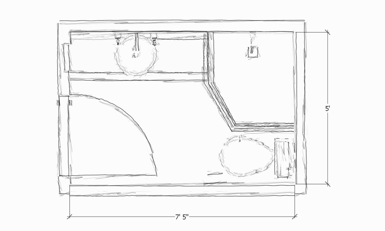 new corner bathroom sink plan-Terrific Corner Bathroom Sink Plan