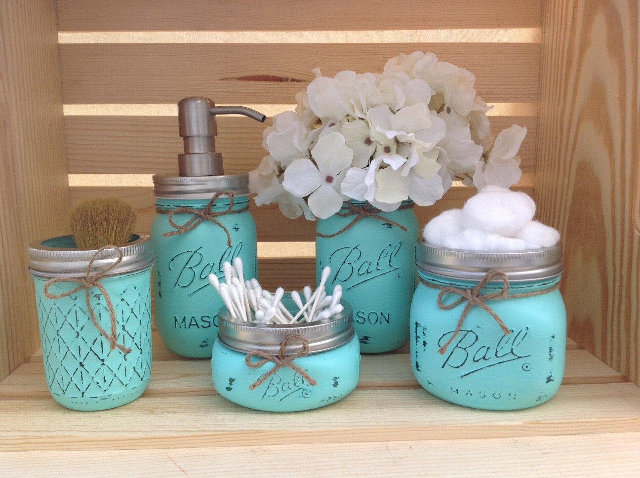 new mason jar bathroom accessories décor-Fantastic Mason Jar Bathroom Accessories Inspiration