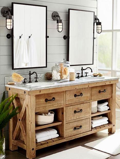 new rustic bathroom vanity plans design-Finest Rustic Bathroom Vanity Plans Décor