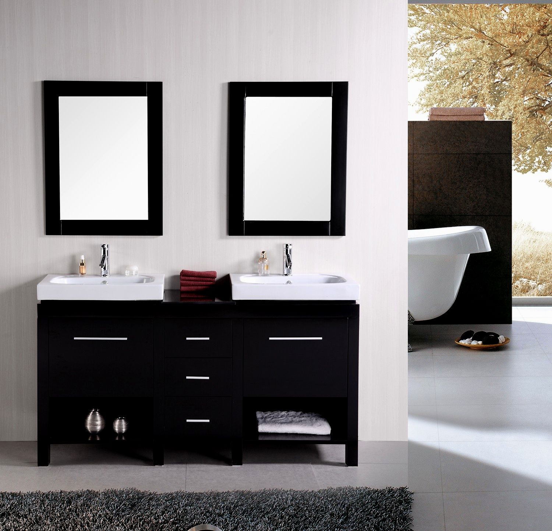 new white bathroom vanities concept-Luxury White Bathroom Vanities Image