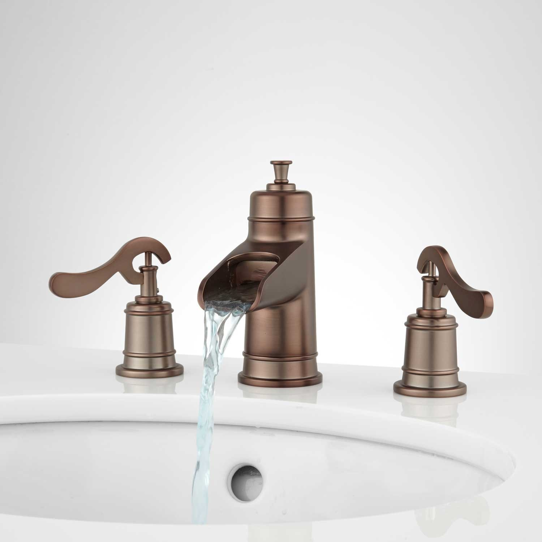 Elegant Oil Rubbed Bronze Faucet Bathroom Layout Bathroom Design