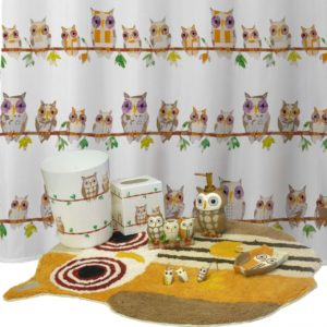Owl Bathroom Decor Fancy Nursery Owl Bathroom Decor Set Decoration Furniture Throughout Photo