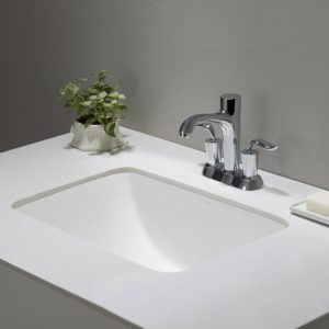 Rectangular Bathroom Sinks Undermount Contemporary Kraus Kcu Elavo Ceramic Small Rectangular Undermount Bathroom Layout