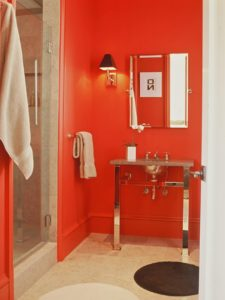 Red Bathroom Ideas Fascinating Red Bathroom Decor Ideas Tips From Hgtv Décor