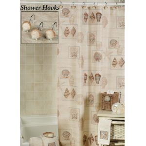 Seashell Shower Curtain Bathroom Set Best Of Seashell Shower Curtain that Add Different Accent In Bathroom Collection