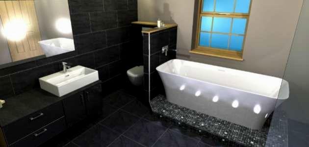 sensational bathroom accent tile online-Stunning Bathroom Accent Tile Photograph