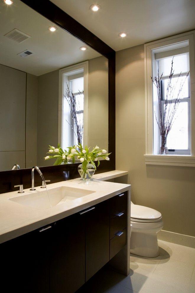sensational bathroom frameless mirror picture-Awesome Bathroom Frameless Mirror Concept