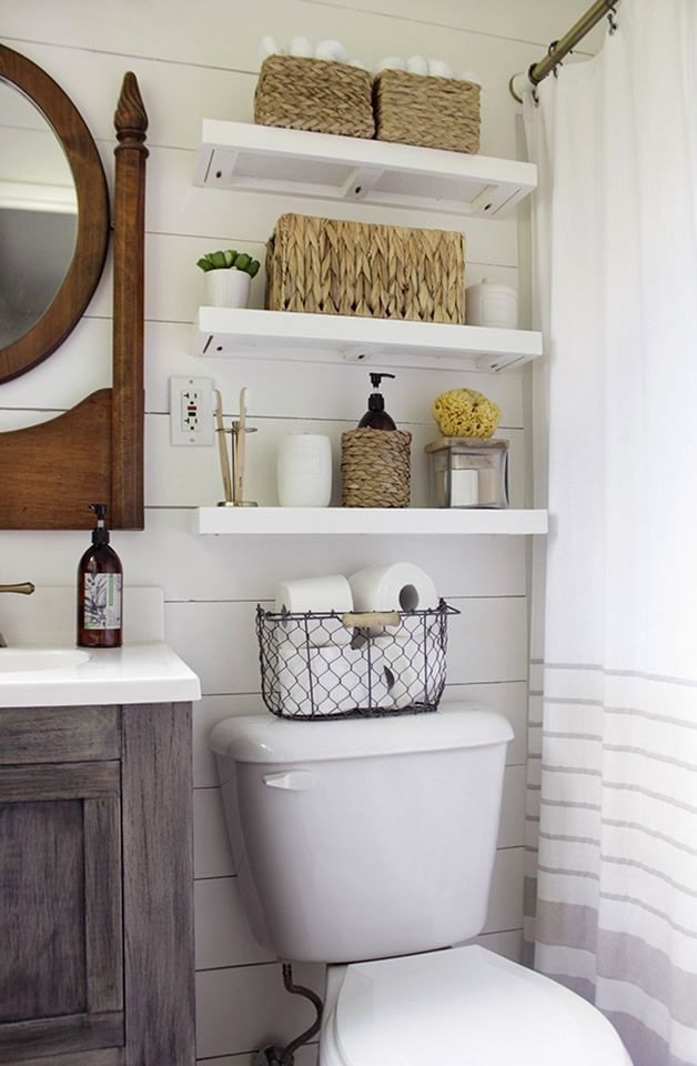 sensational floating shelves bathroom pattern-Wonderful Floating Shelves Bathroom Picture