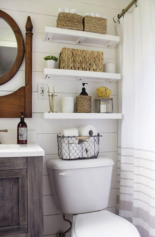 sensational floating shelves bathroom pattern-Wonderful Floating Shelves Bathroom Picture