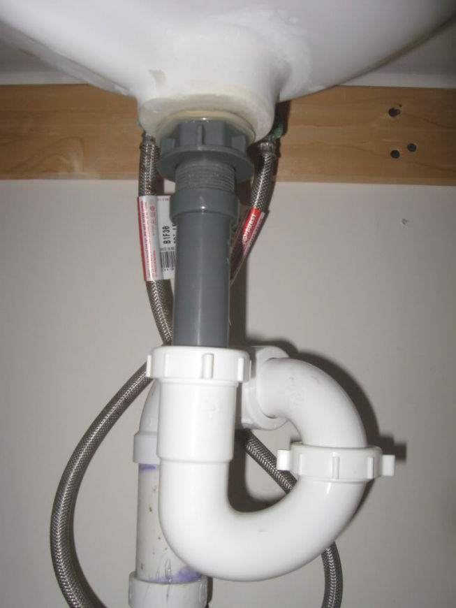 Contemporary How to Replace A Bathroom Sink Drain Portrait ...