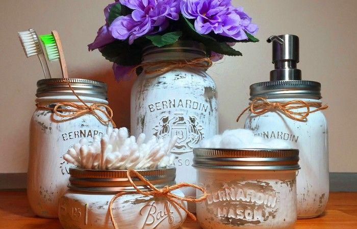 sensational mason jar bathroom accessories picture-Fantastic Mason Jar Bathroom Accessories Inspiration