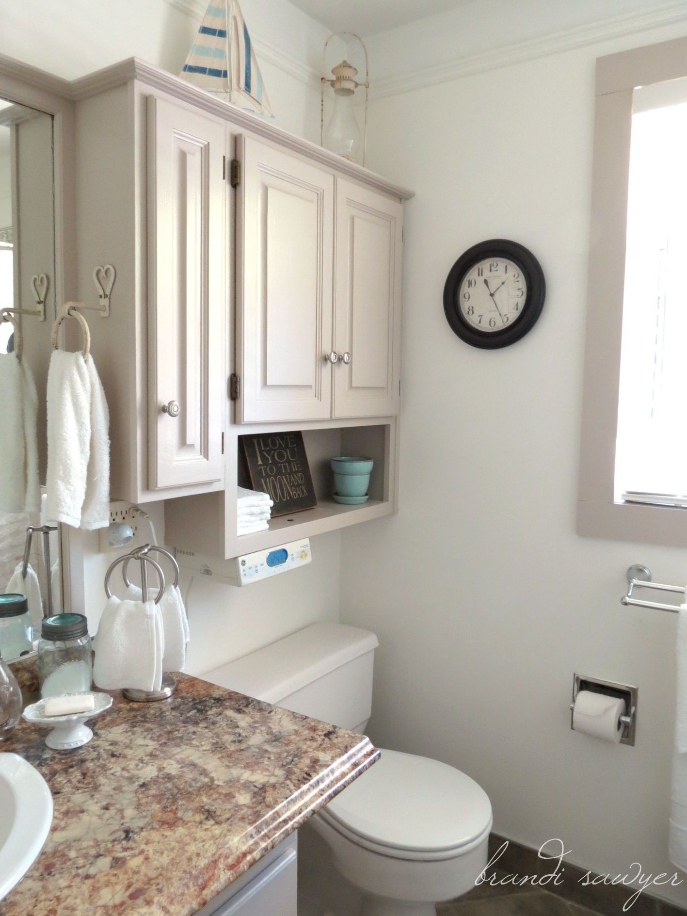 Cute Small Bathroom Makeover Model - Home Sweet Home ... on Bathroom Model  id=44565