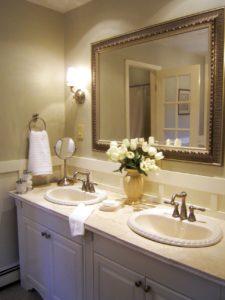 Spa Like Bathroom Decor Finest Spa Like Bathroom Decor as Well as Gold Stainless Steel Curved Décor
