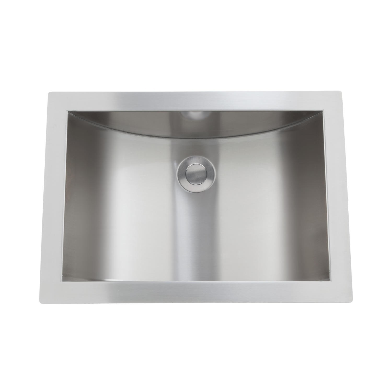 Stainless Bathroom Sink Amazing Optimum Stainless Steel Curved Undermount Sink Bathroom Portrait