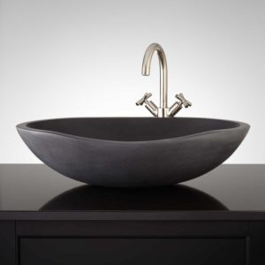 Stone Vessel Bathroom Sinks Stylish thera Lava Stone Vessel Sink Bathroom Concept