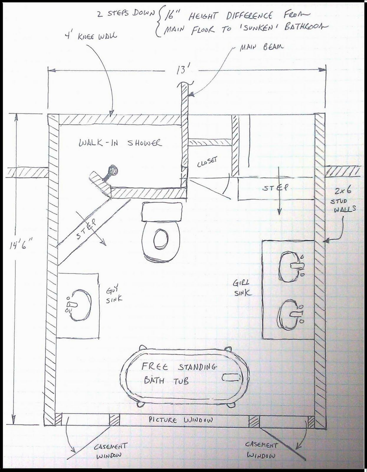 8X8 Bathroom Layout Ideas