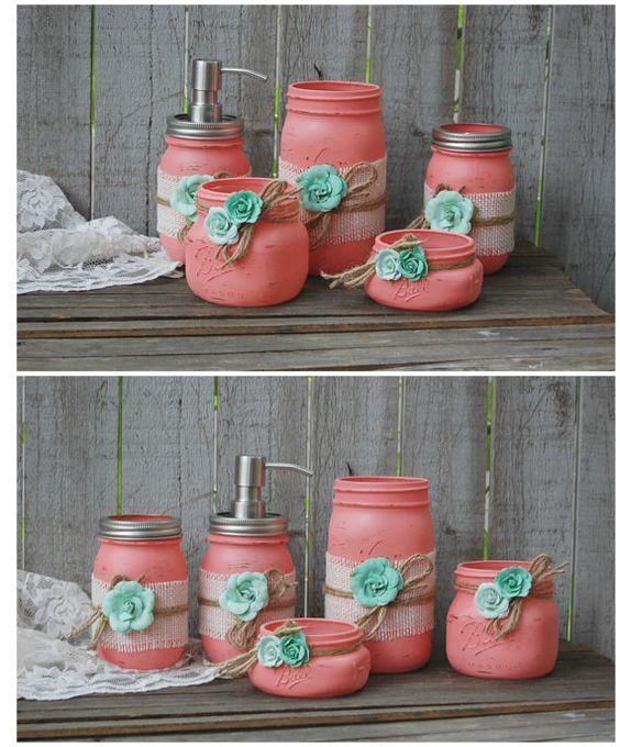 stunning mason jar bathroom accessories picture-Fantastic Mason Jar Bathroom Accessories Inspiration