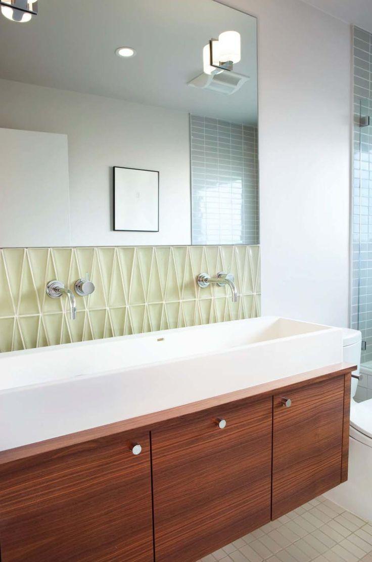 Inspirational Mid Century Bathroom Tile Photograph - Home ...