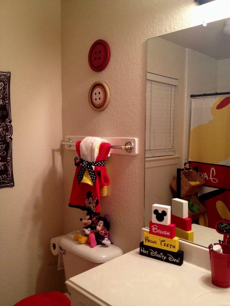 stunning minnie mouse bathroom decor decoration-Stunning Minnie Mouse Bathroom Decor Ideas