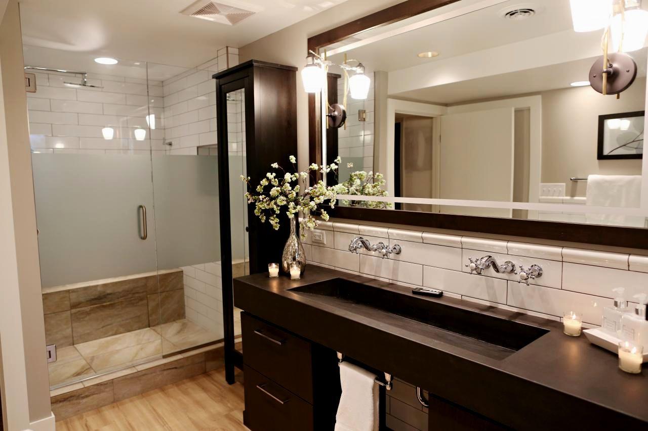 stylish bathroom accent tile image-Stunning Bathroom Accent Tile Photograph