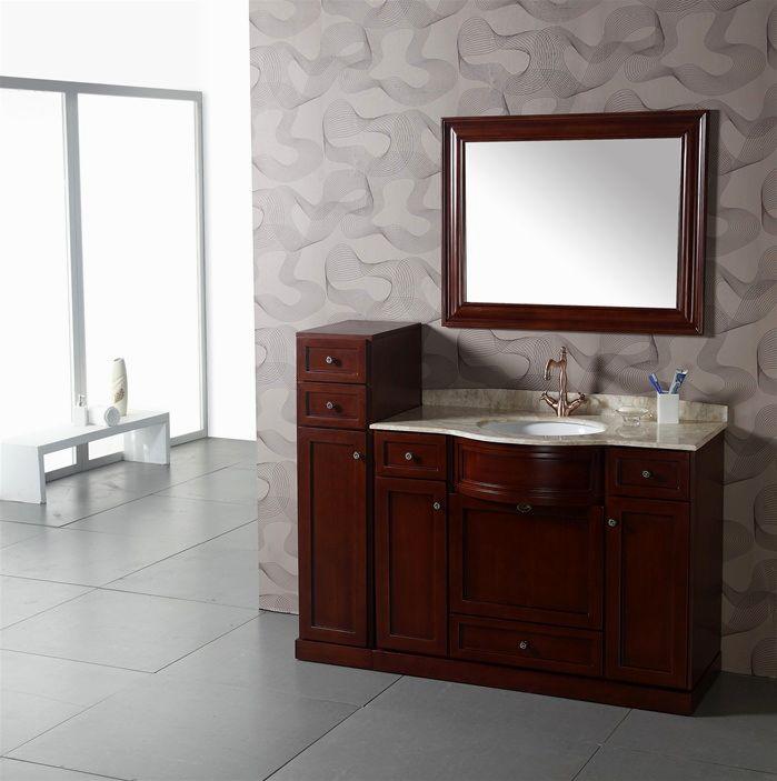 superb 54 inch bathroom vanity single sink construction-Stunning 54 Inch Bathroom Vanity Single Sink Portrait