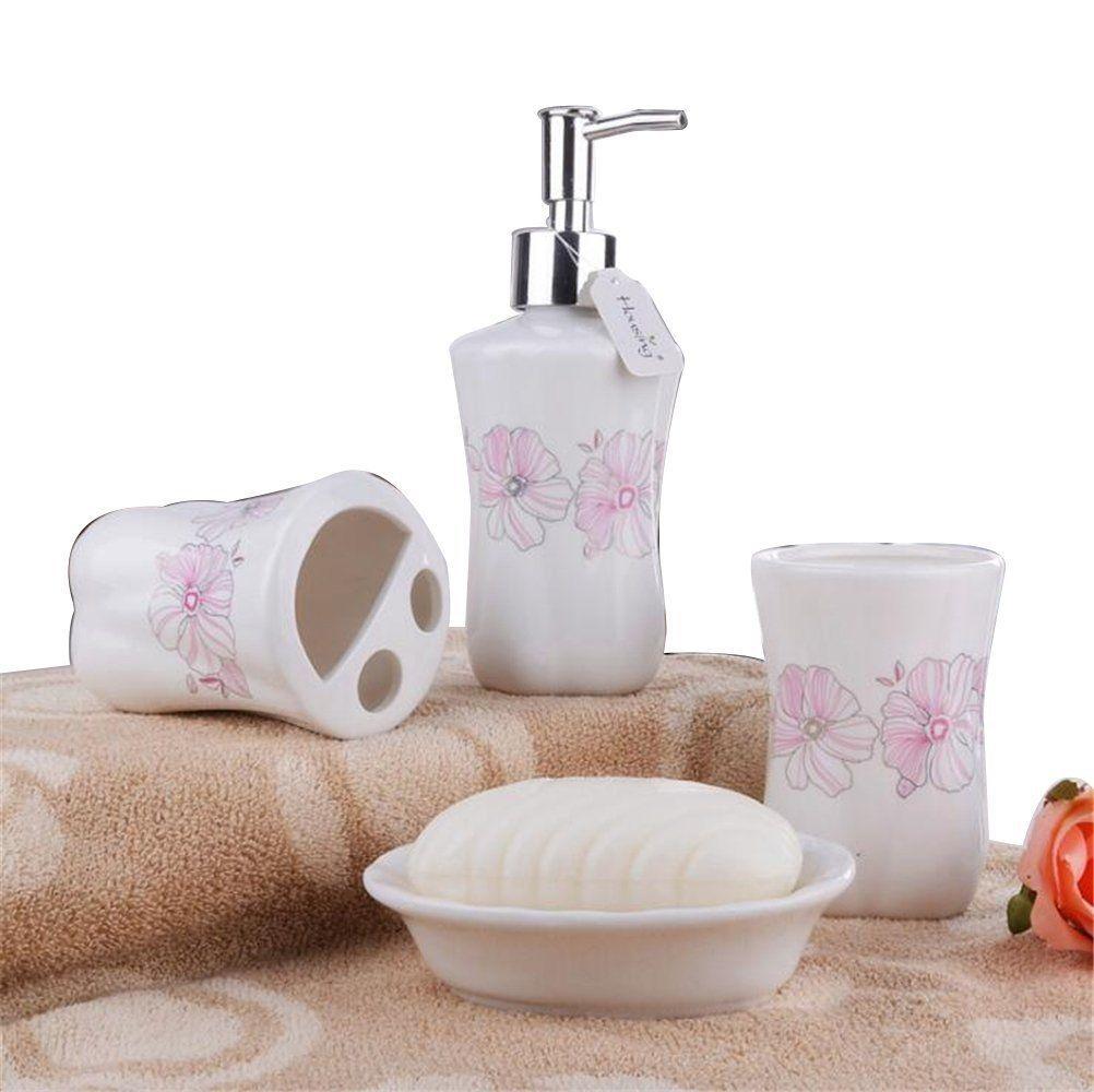 superb cherry blossom bathroom set decoration-Stylish Cherry Blossom Bathroom Set Layout