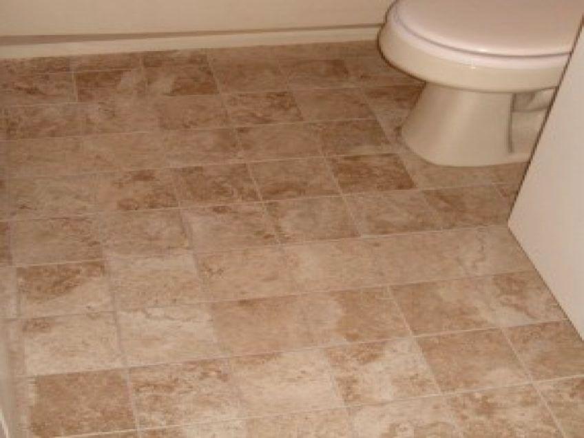 superb tile flooring for bathroom image-Contemporary Tile Flooring for Bathroom Plan