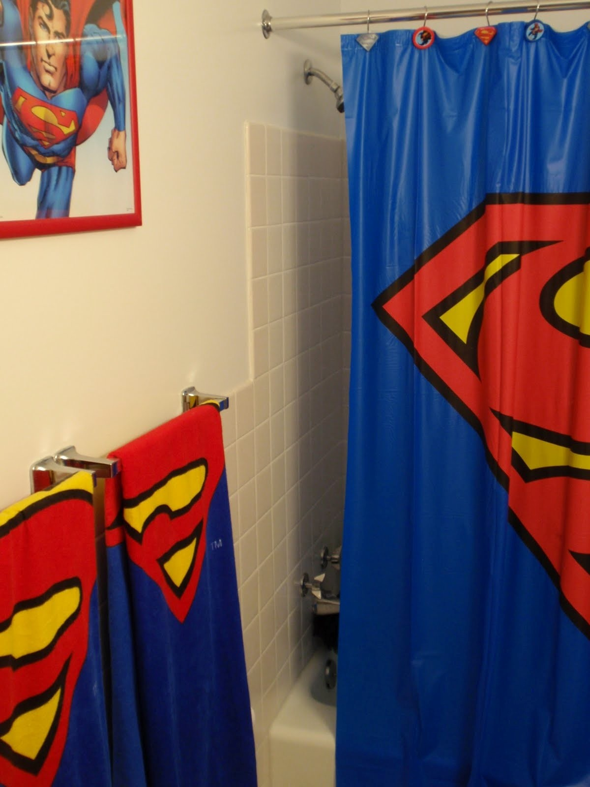 Incroyable Superman Bathroom Set Sensational Ideas Superman Bath And Body Set Superman  Bathroom Set Superman Inspiration