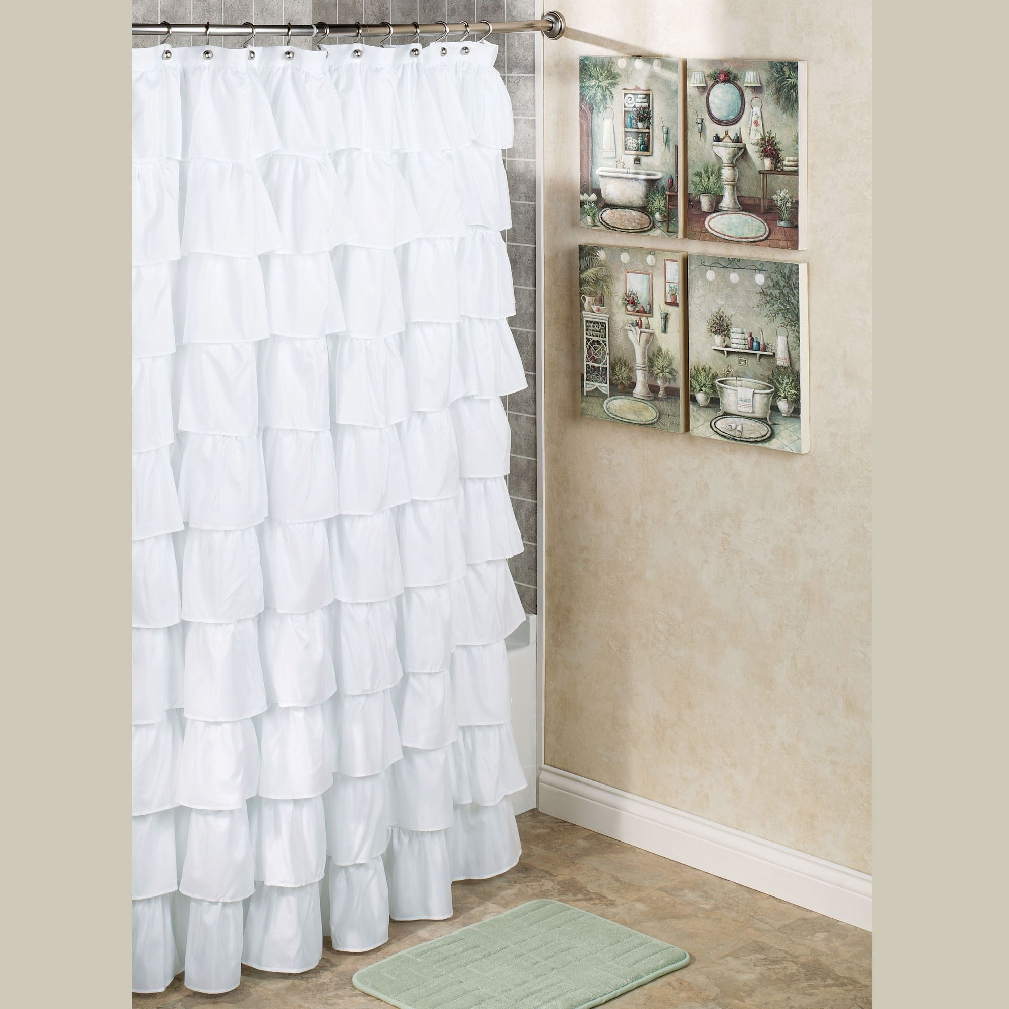 Target Bathroom Curtains New Advantages Of Installing White Shower Curtains Bellissimainteriors Decoration