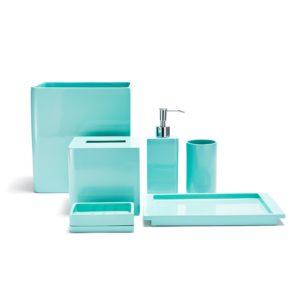 Teal Bathroom Accessories Sets Luxury Teal Bathroom Accessories Also Unique Design Aqua Bathroom Model