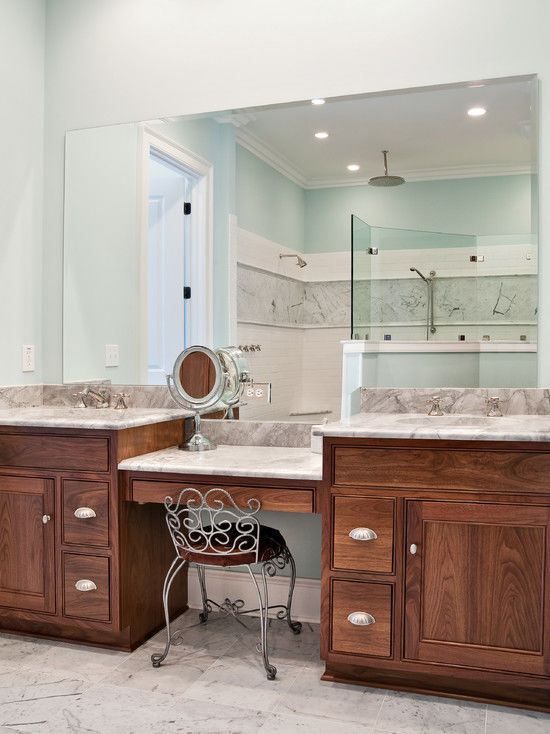 terrific bathroom vanity with makeup station pattern-Excellent Bathroom Vanity with Makeup Station Layout