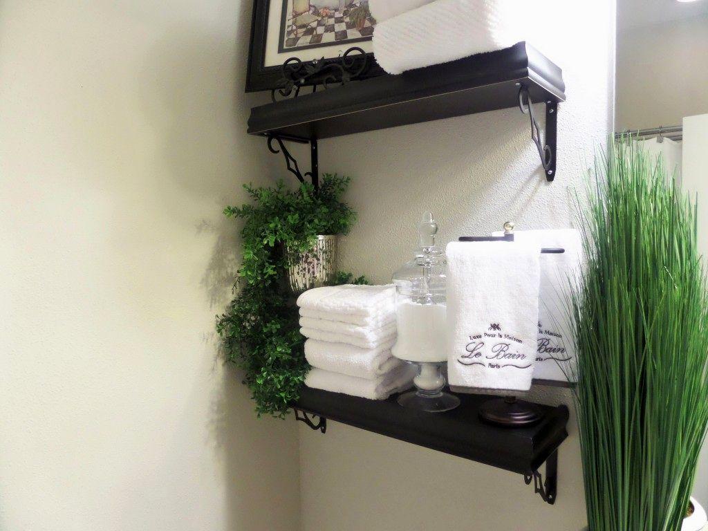 terrific floating shelves bathroom ideas-Wonderful Floating Shelves Bathroom Picture
