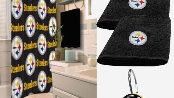 Stylish Steelers Bathroom Set Gallery
