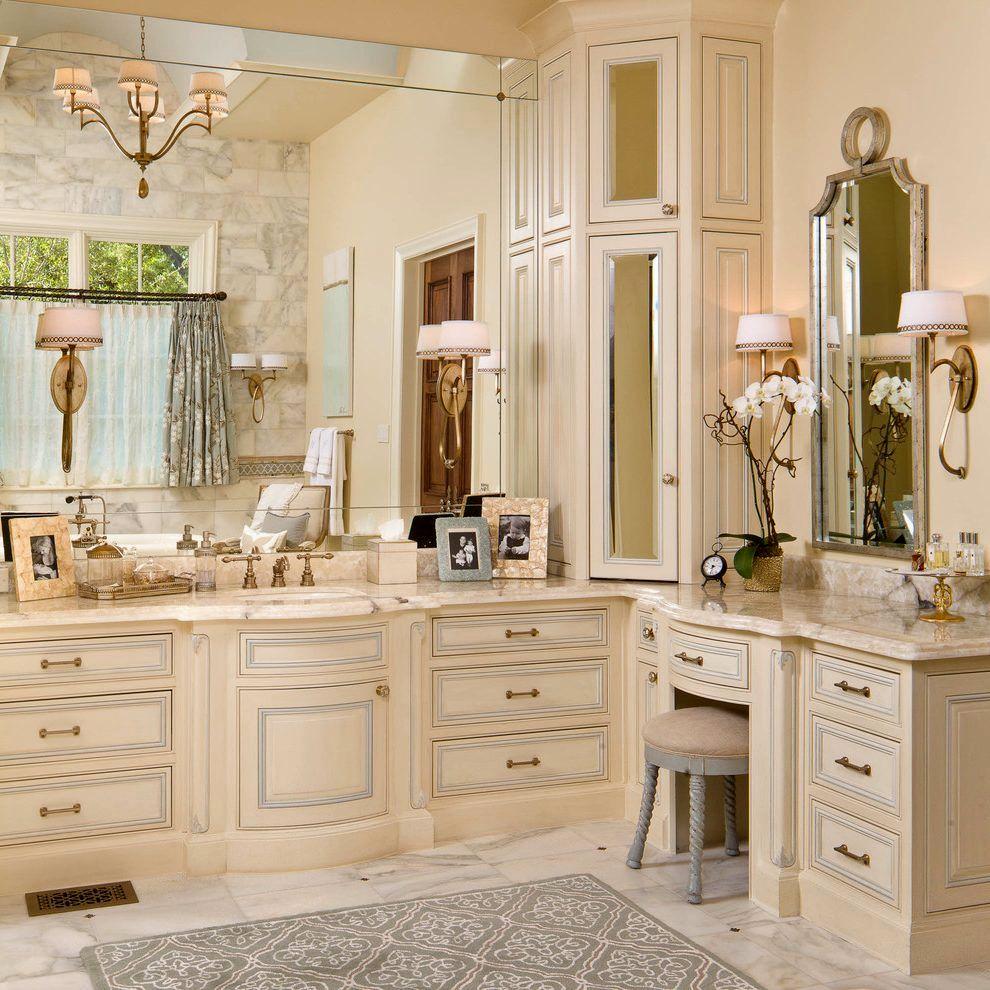terrific white bathroom vanities gallery-Luxury White Bathroom Vanities Image