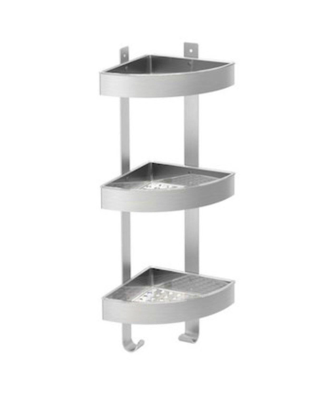 top 3 tier bathroom shelf picture-Modern 3 Tier Bathroom Shelf Design