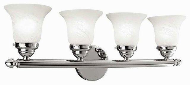 top 5 light bathroom fixture architecture-Contemporary 5 Light Bathroom Fixture Image