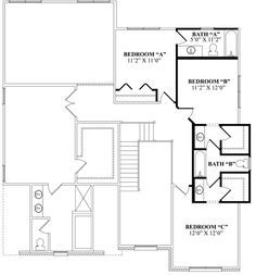 top house plans with jack and jill bathroom concept-Finest House Plans with Jack and Jill Bathroom Model