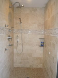 Travertine Bathroom Tiles Lovely Travertine Tile Master Bathroom Layout