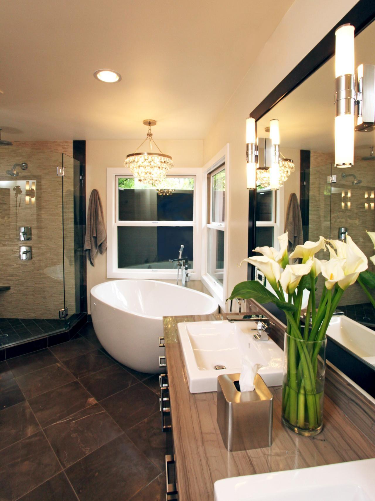 Stylish Tropical Bathroom Decor Pattern - Home Sweet Home ...