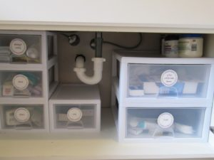 Under the Bathroom Sink Storage Lovely Bathroom Cabinet organization Ideas Design